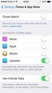 iTunes & App Store Automatic Downloads